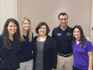 ECU MSOT students at GREAT Conference