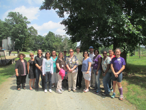 NC AgrAbility group photo from Accessible Agriculture training in Kannapolis.