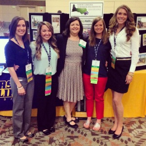 ECU MSOT presented AgrAbility at AOTA Conference.
